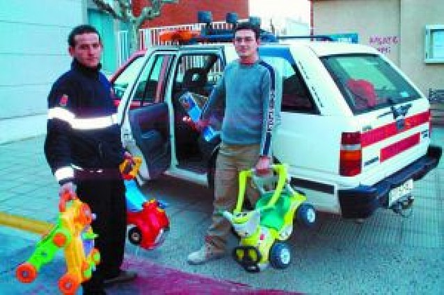 Campaña de Protección Civil para recoger juguetes usados