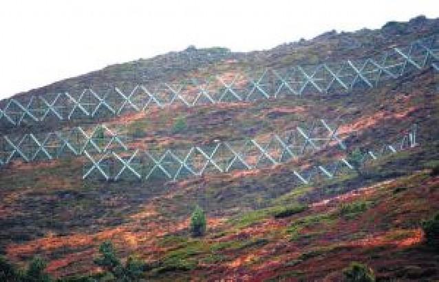 Un informe cuestiona la instalación de estructuras antialudes en Belagua