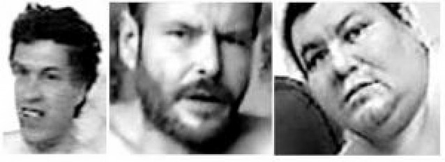 La Guardia Civil difunde las imágenes de tres pederastas