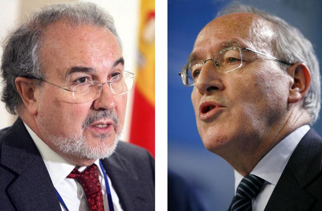 """Solbes acusa al PP de """"poner en peligro"""" la política social y se ofrece como garantía de tranquilidad y confianza"""