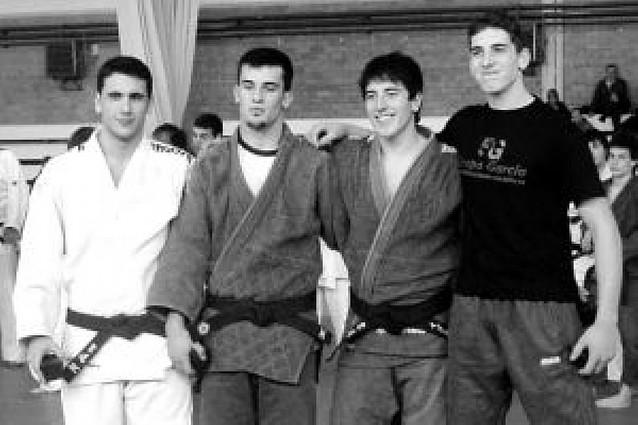Plata y bronce para dos judocas riberos
