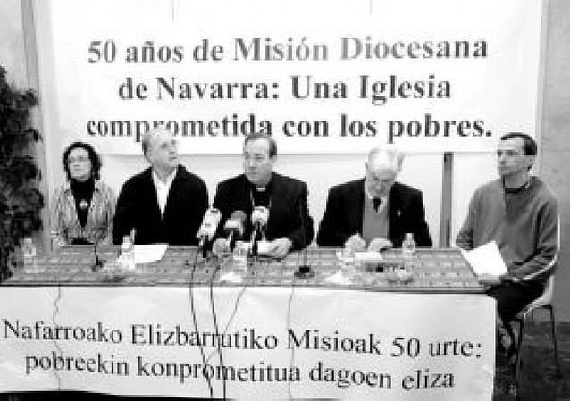 """La Iglesia navarra celebra 50 años de """"Misión Diocesana"""""""