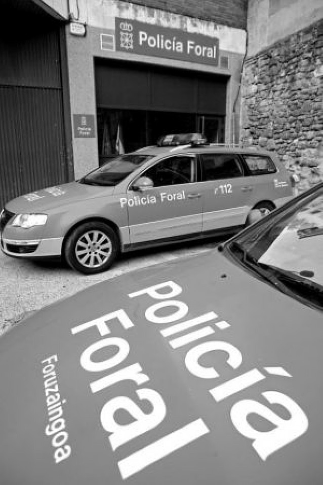 Policía Foral celebra su fiesta en Estella