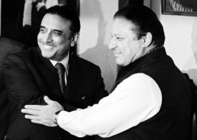 Los dos partidos más votados de Pakistán deciden gobernar juntos
