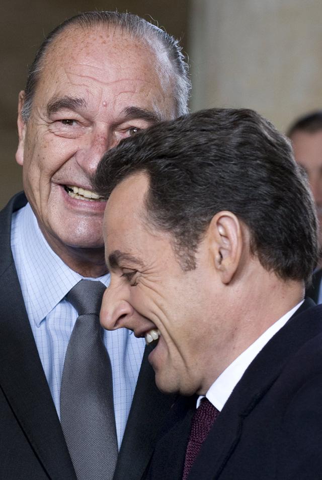 """Sarkozy se arropa en la figura de De Gaulle al inaugurar su """"Historial"""""""