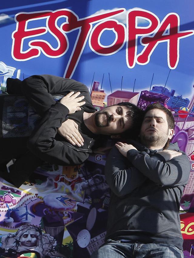 """La piratería se ceba con """"Allenrock"""", el nuevo disco de Estopa"""