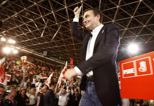 """Zapatero: """"En los próximos cuatro años vamos a hacer la mejor España de toda la historia"""""""