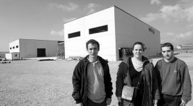 La empresa Ecofuego se traslada de Añézcar a Muruarte de Reta