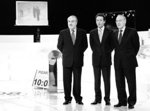 El debate Solbes-Pizarro reunió a 4.784.000 espectadores