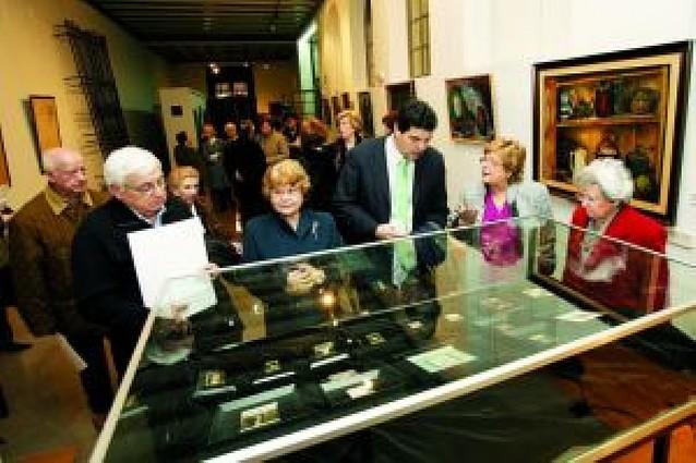 El ayuntamiento recibe una colección de obras del pintor tudelano Vidal Abeti