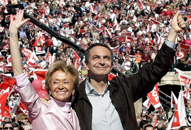 """Zapatero dice en Valencia que el PP """"mintió"""" con el trasvase del Ebro igual que con el 11-M"""