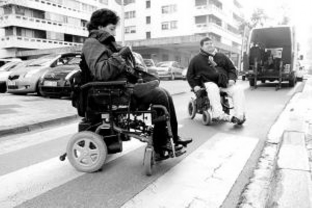 Pamplona, accesible pero mejorable
