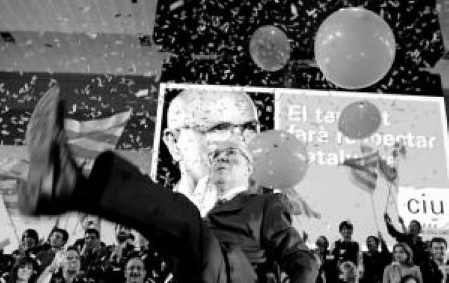 Duran Lleida muestra en campaña su recuperación