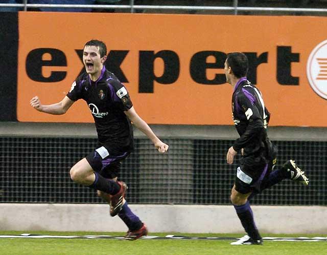 El Valladolid se aleja del descenso y hunde al Murcia