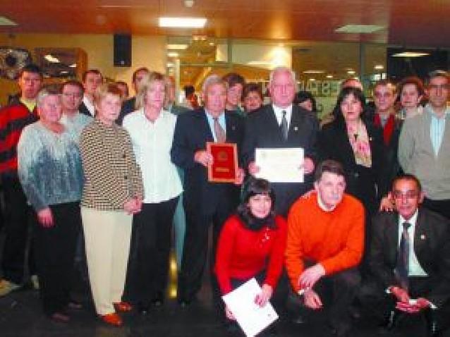 Los donantes de sangre de Estella reciben 18 medallas