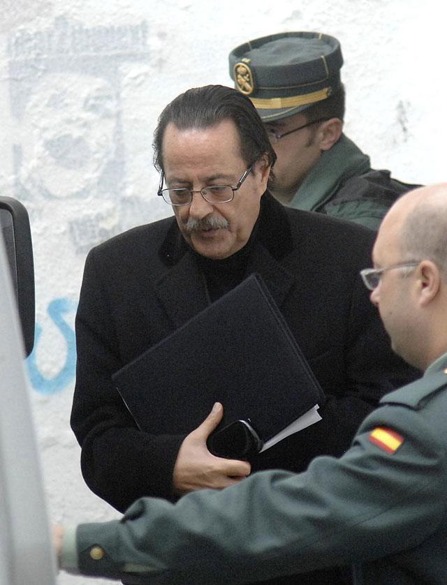 """Julián Muñoz declara en los juzgados de Marbella por el """"caso Malaya"""""""