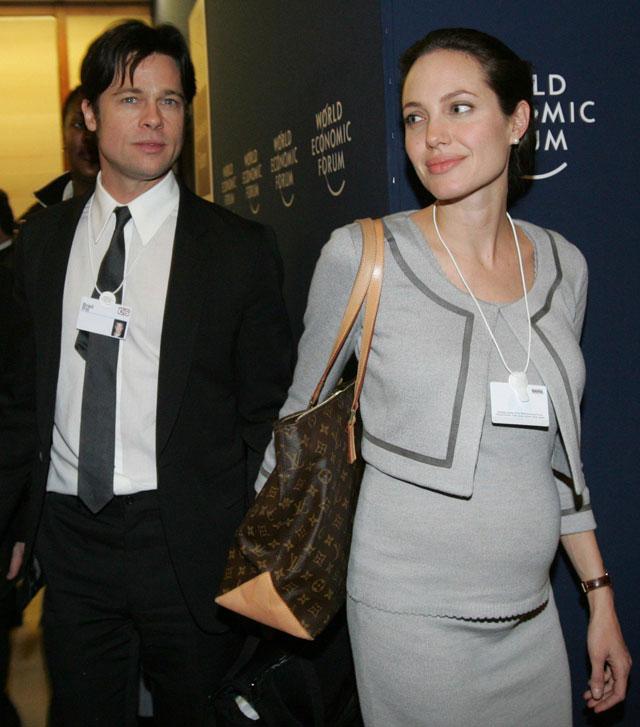 Angelina Jolie, embarazada de su segundo hijo biológico con Brad Pitt