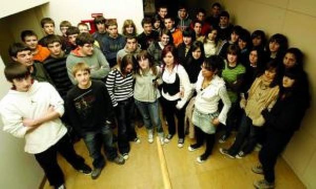 El Colegio Escolapios de Tafalla visita Diario de Navarra
