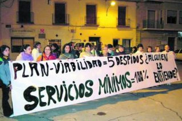 Los trabajadores de la residencia de Cortes ponen fin a la huelga