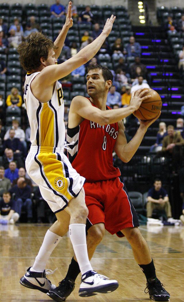 Los Raptors pueden con los Pacers en otro discreto encuentro de Calderón