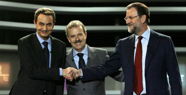 Trece millones de telespectadores siguieron el debate, 8 de ellos en TVE