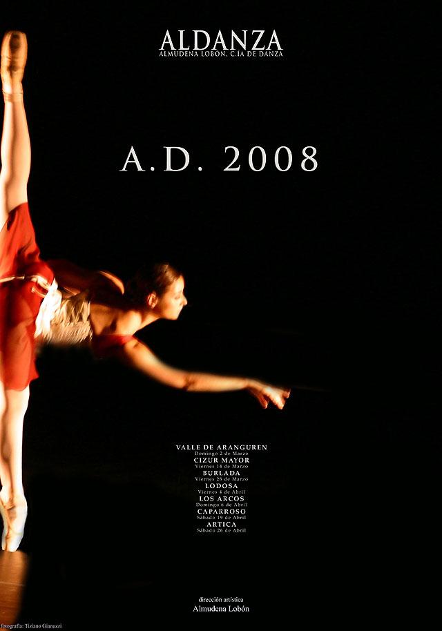 La compañía Aldanza comienza el domingo su gira por Navarra dentro del Festival Escena 2008