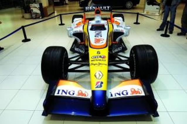 El Fórmula 1 de Alonso, en Pamplona