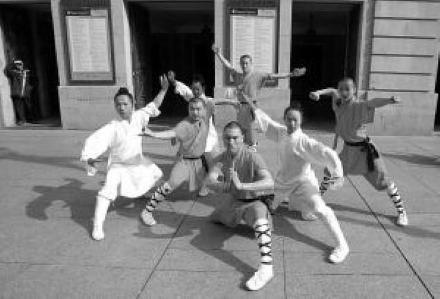 Los monjes Shaolin no vienen solos a Pamplona