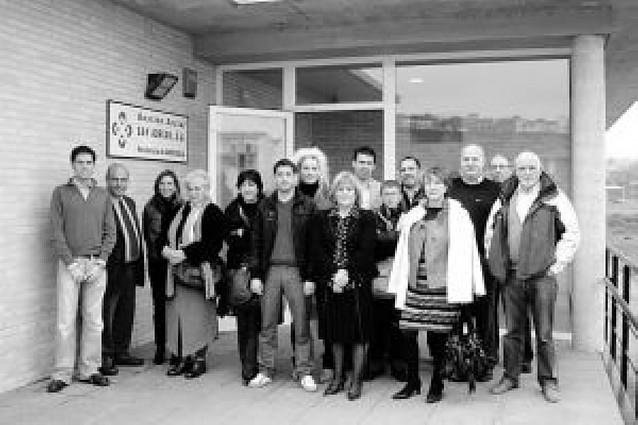 Una comisión del Parlamento visitó la residencia de Andosilla