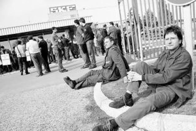 Los trabajadores de SKF de Tudela inician paros indefinidos por el nuevo calendario
