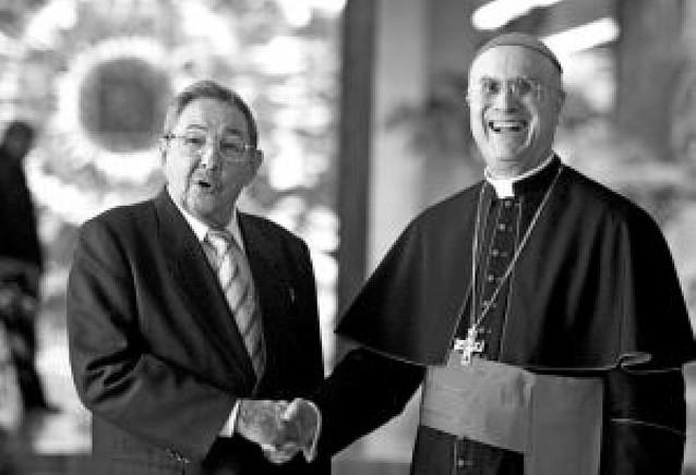 El Vaticano, primer Estado en visitar al nuevo presidente cubano Raúl Castro