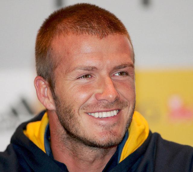 "Beckham admite que no está ""físicamente"" preparado para jugar con Inglaterra"