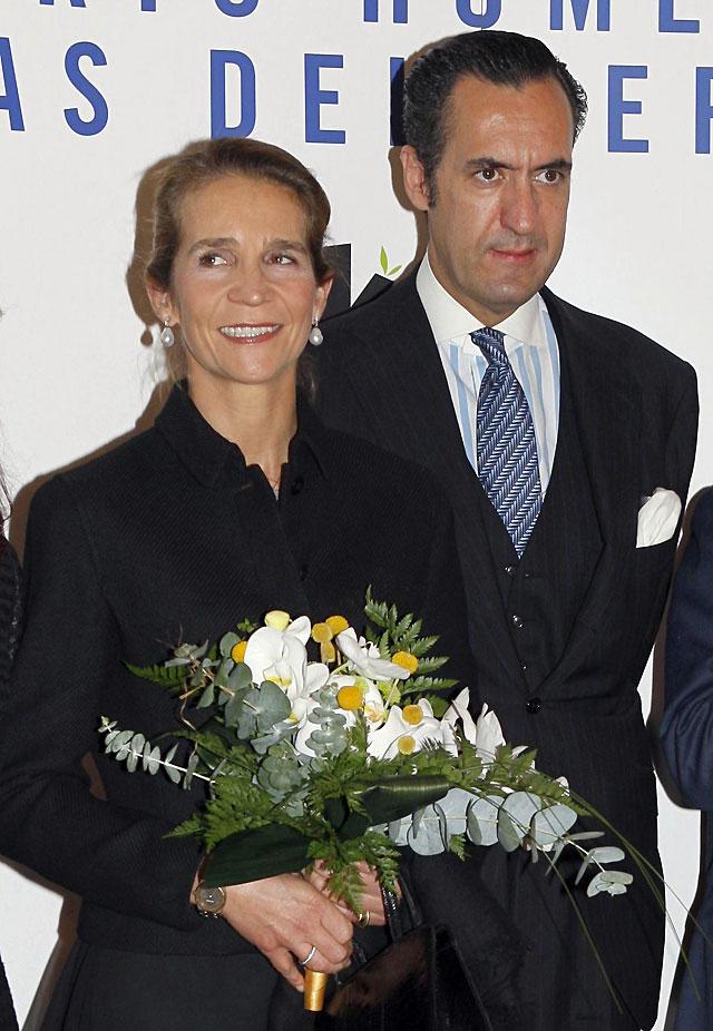 La Casa Real confirma la disolución de la empresa de consultoría adquirida por la Infanta Elena