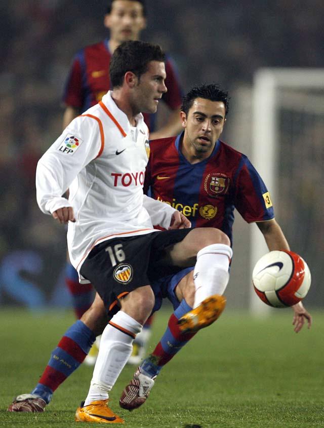 El Valencia cobra una mínima ventaja en la ida (1-1)