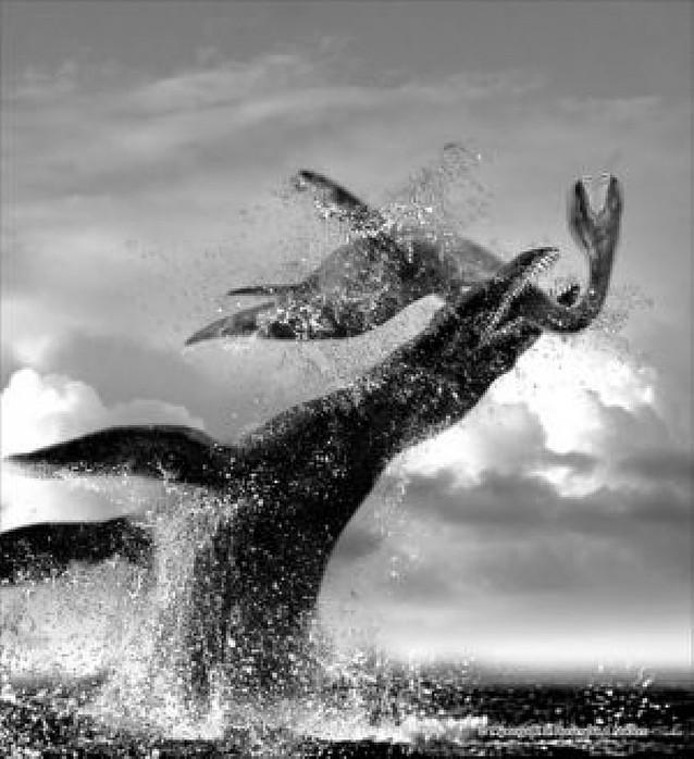"""Así era """"El monstruo"""" de los mares"""