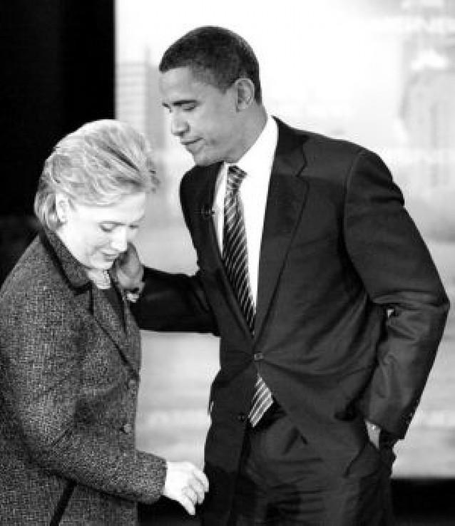 Barack Obama sale reforzado del debate con Hillary Clinton en Ohio