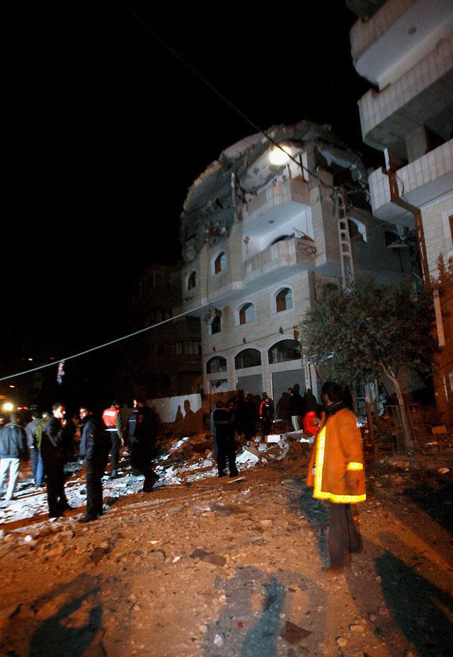 Más de veinte muertos y decenas de heridos por los ataques del Ejército israelí en la Franja de Gaza