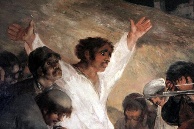 La mirada de Goya sobre la guerra irrumpe en la Biblioteca Nacional