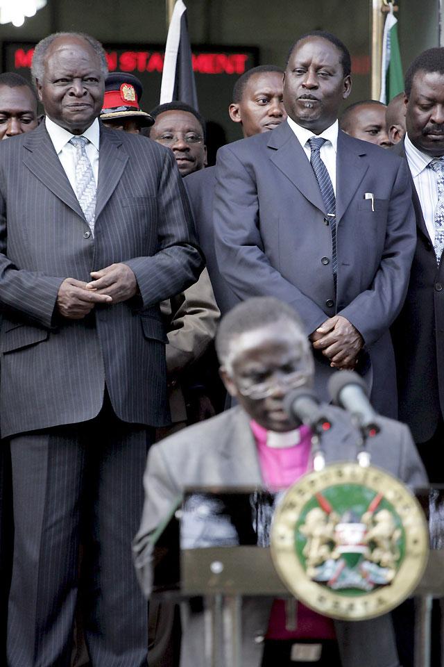 Kibaki y Odinga ponen fin a la crisis con un acuerdo para la creación de un gobierno de unidad nacional