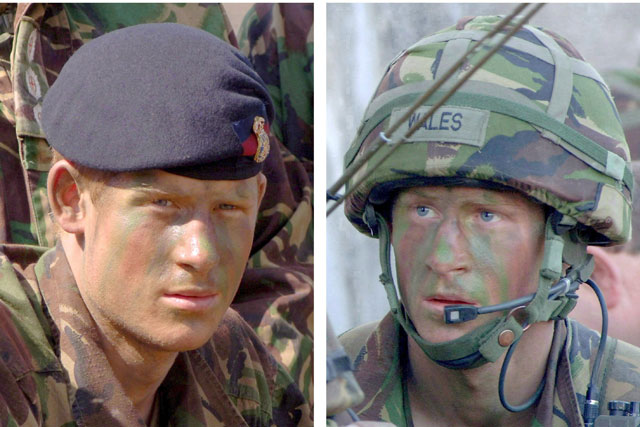 El príncipe Enrique está en Afganistán donde ha luchado contra los talibanes