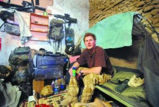 Enrique en Afganistán