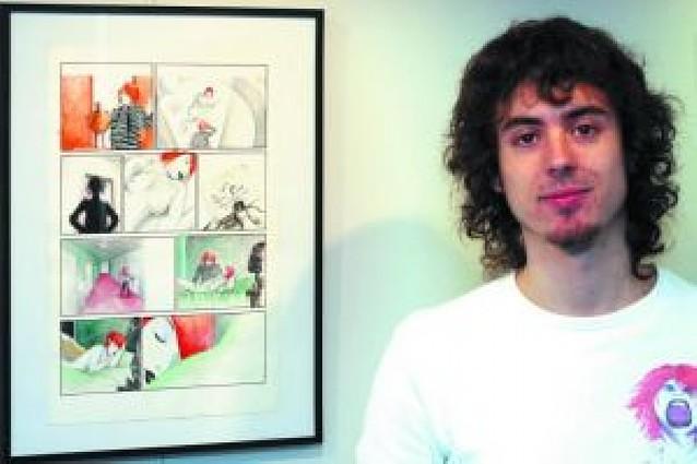 La Casa de la Juventud acoge una exposición de cómic de Carlos Bribián