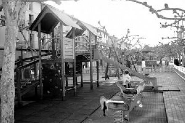 Fitero mejora el parque de la Plaza de San Raimundo