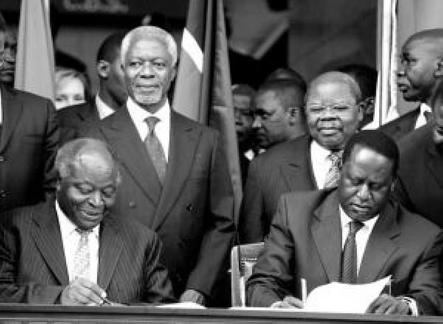 El Gobierno de Kenia y la oposición firman un acuerdo para formar una coalición