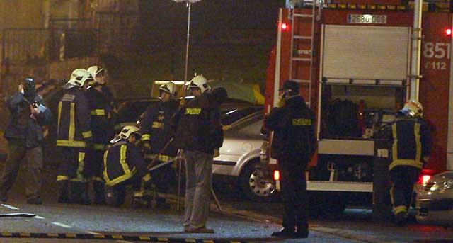 La bomba en la sede de PSE-EE de Derio tenía 3 kilos de amonal