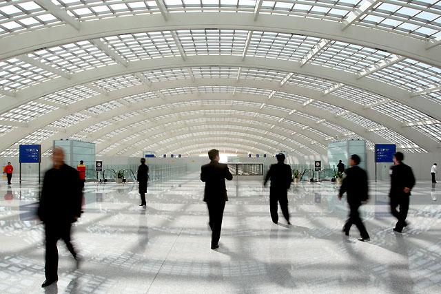 El aeropuerto de Beijing estrena su nueva Terminal 3, un dragón de 2.900 metros de longitud