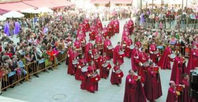 La II Concentración de Bandas de Tambores abre hoy la Semana Santa tudelana
