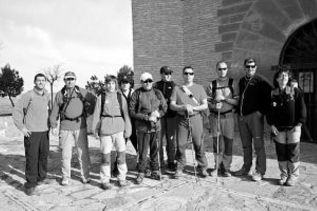 Los peregrinos de Fontellas, de los primeros en salir del Yugo