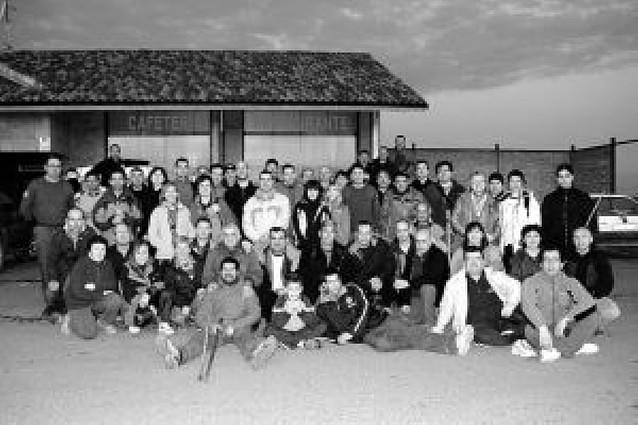 Más de 100 caminantes forman el grupo de Corella