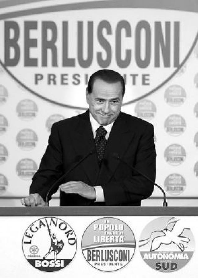 Berlusconi presentó el programa con el que quiere volver al poder